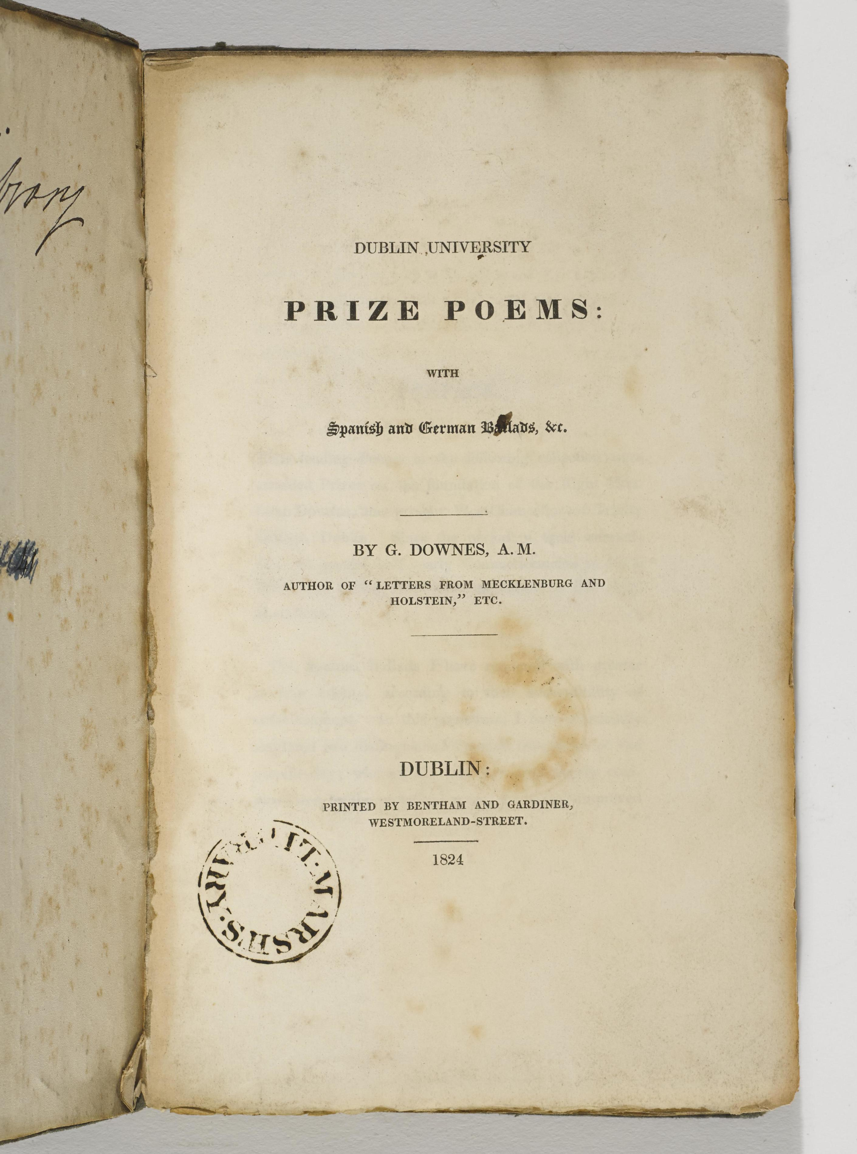 Downes 1824 Title Page.jpg