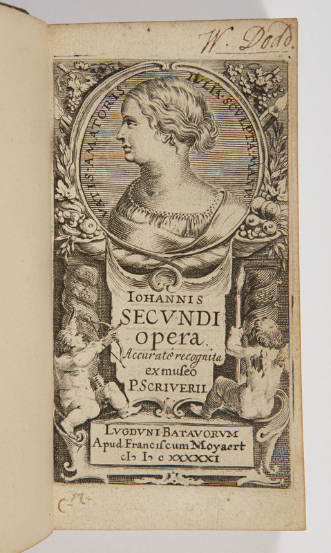 Illustrated title page, including a portrait