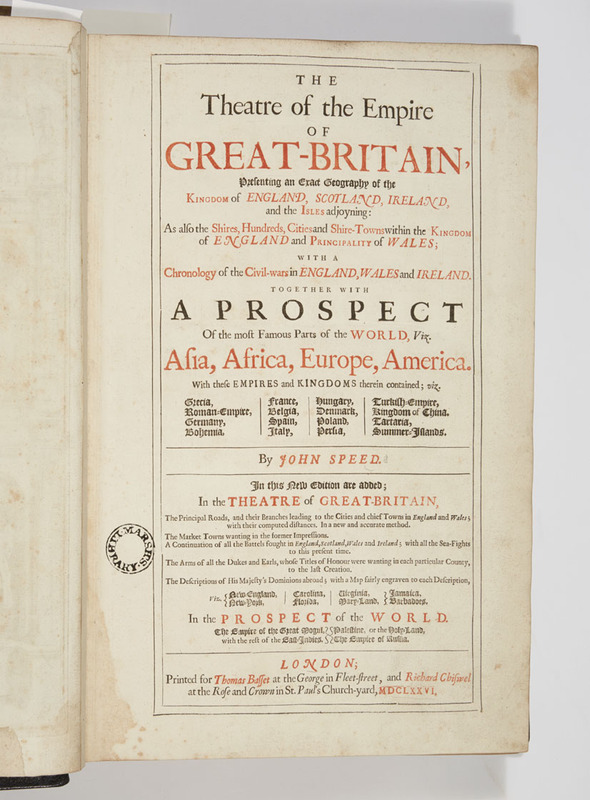 Title page featuring a list of contents