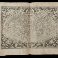 World Map according to Ptolemy