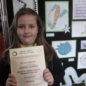 Saoirse Waters 2nd prize winner