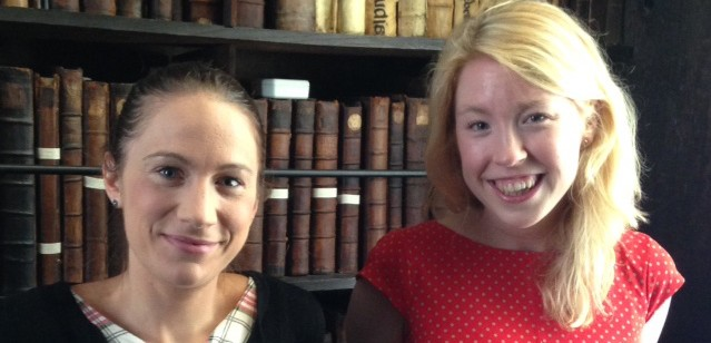 We would like to introduce Dr Marie Léoutre and Dr Amy Prendergast