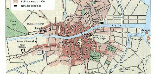 €164,000 award from the IRC to research and map the intellectual and cultural geography of 19th century Dublin.