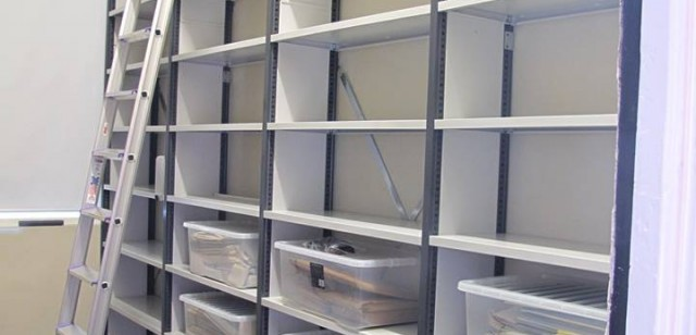 Replacing an unsuitable cupboard with safe, archival-quality storage facilities.