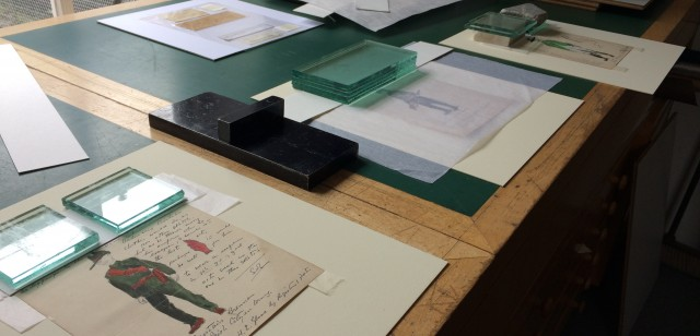 A sneak peek of our exhibition, '1916: Tales from the Other Side'