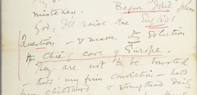 A note on the Casement Papers held at Farmleigh has been published by our research fellow John Gibney