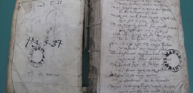 Z3.5.21 is a 16th-century commonplace book.