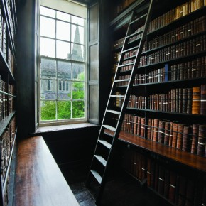 Marsh's Library, Dublin, Ireland..Photo by Matt Cashore