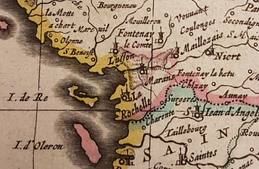 Detail of La Rochelle
