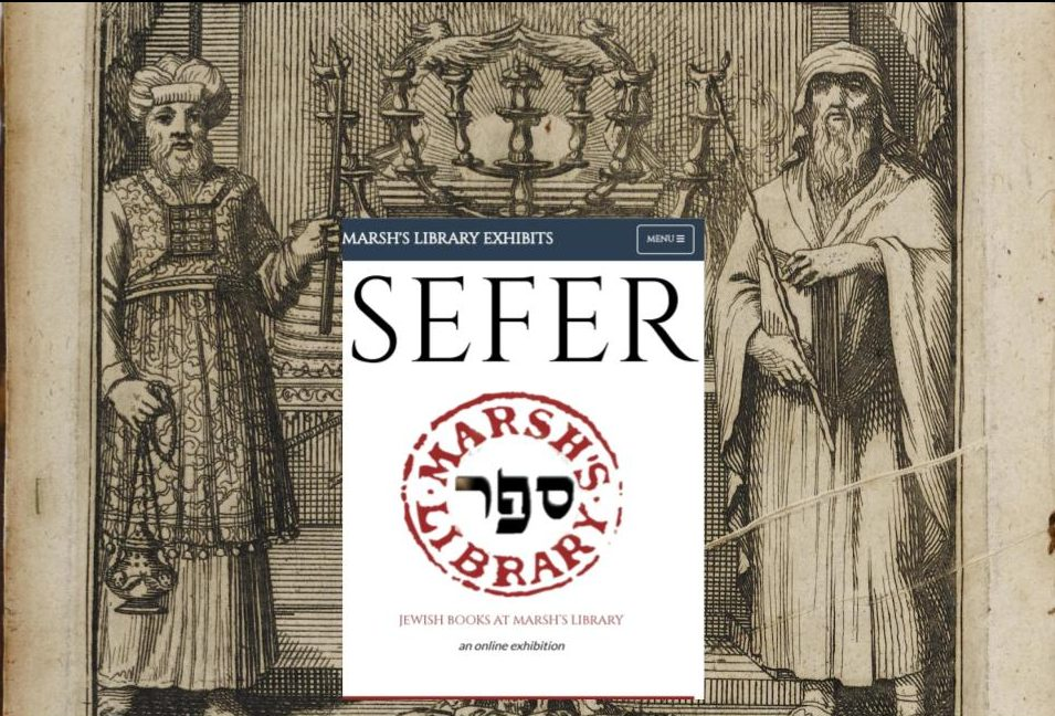 Online exhibition of Jewish books